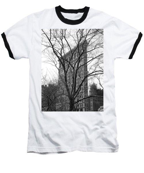 Flat Iron Tree Baseball T-Shirt