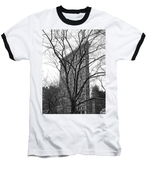 Flat Iron Tree Baseball T-Shirt