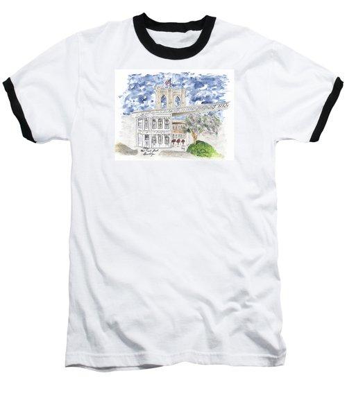 1 Front Street In Brooklyn Baseball T-Shirt