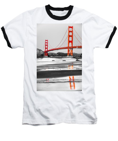 Golden Gate - San Francisco - California - Usa Baseball T-Shirt