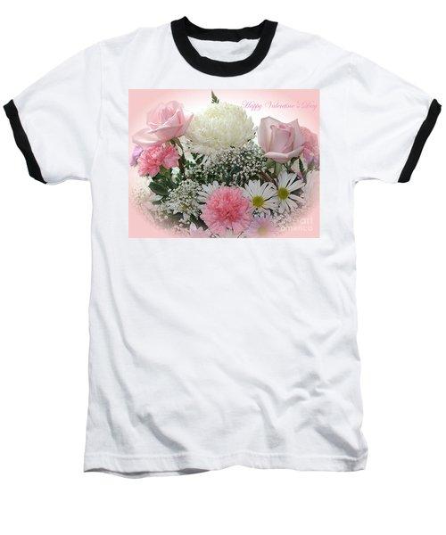 Happy Valentine's Day Baseball T-Shirt