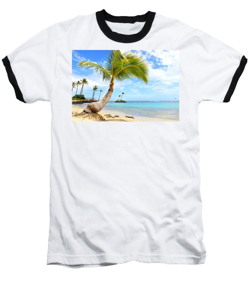 Baseball T-Shirt featuring the photograph Hawaiian Paradise by Kristine Merc