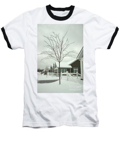 Hello Snow Baseball T-Shirt