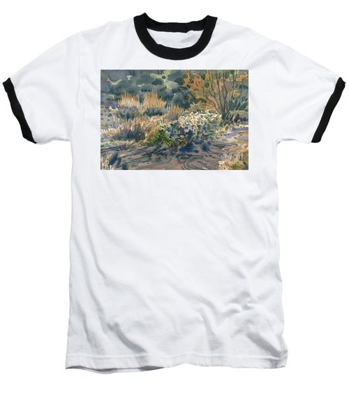 High Desert Flora Baseball T-Shirt by Donald Maier