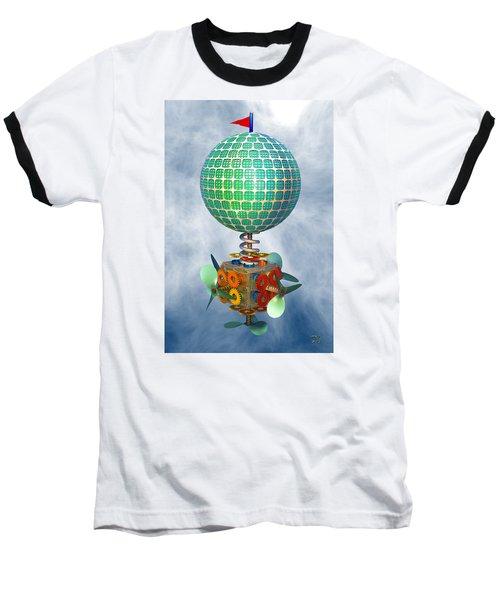 Baseball T-Shirt featuring the digital art Improbability by Manny Lorenzo