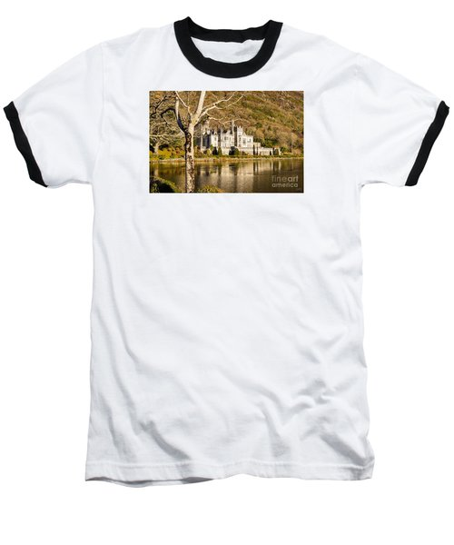 Kylemore Abbey In Winter Baseball T-Shirt