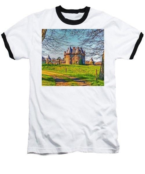 Chateau De Landale Baseball T-Shirt by Elf Evans
