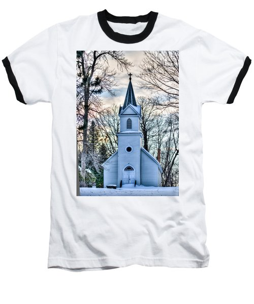 Maria Chapel Baseball T-Shirt by Paul Freidlund