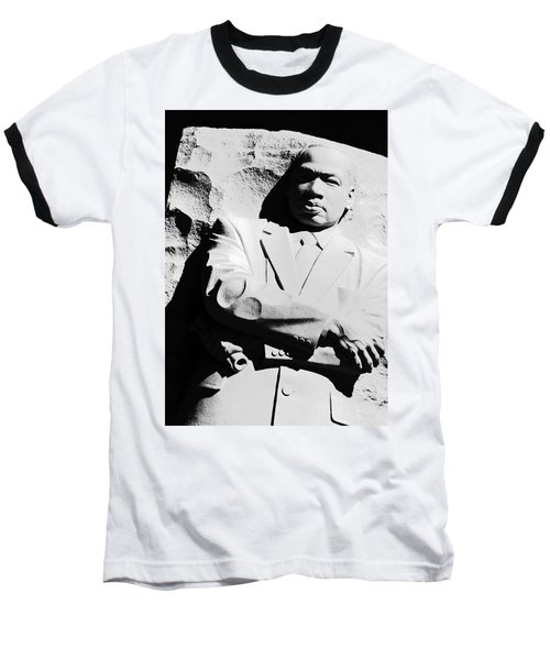 Baseball T-Shirt featuring the photograph Martin Luther King Memorial by Cora Wandel