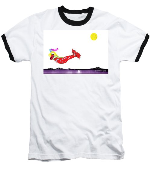 Mermaid 2 Baseball T-Shirt
