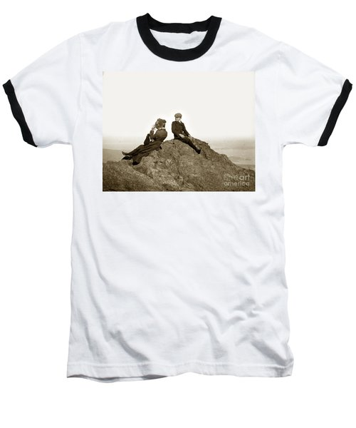 Baseball T-Shirt featuring the photograph Mount Tamalpais Marin County  Circa 1902 by California Views Mr Pat Hathaway Archives