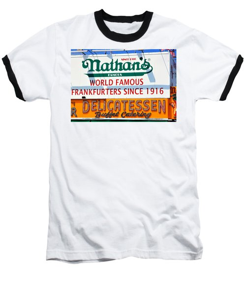 Nathan's Sign Baseball T-Shirt