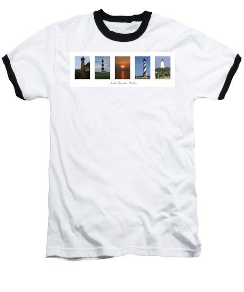 North Carolina Seashore Baseball T-Shirt