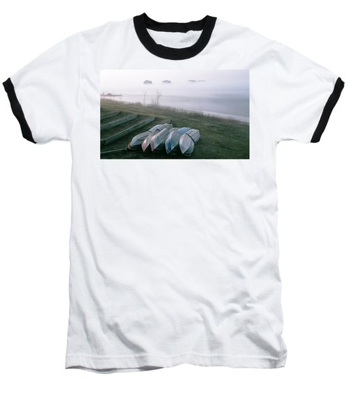 Baseball T-Shirt featuring the photograph Patiently Waiting by David Porteus