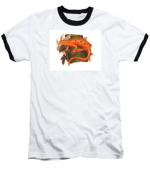 Red Eft Baseball T-Shirt