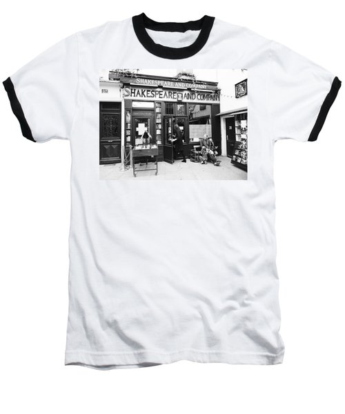 Shakespeare And Company Bookstore In Paris France Baseball T-Shirt