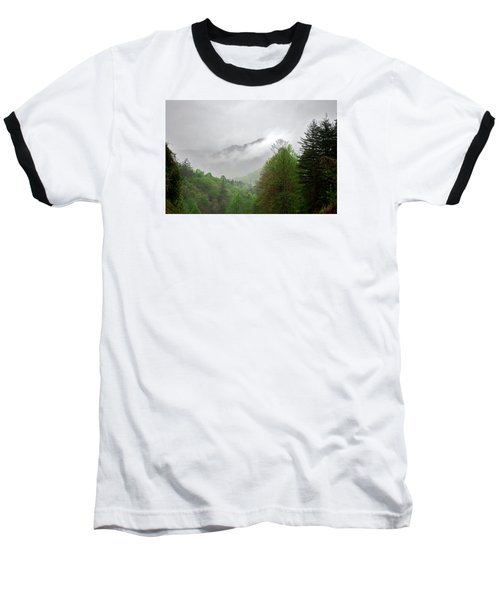 Smoky Mountains Baseball T-Shirt by Lawrence Boothby