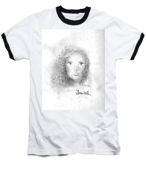 Something About Mary Baseball T-Shirt by Laurie L