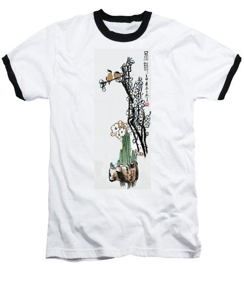 Baseball T-Shirt featuring the photograph Spring Melody by Yufeng Wang