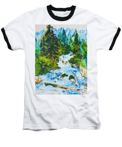 Spring Run-off Baseball T-Shirt