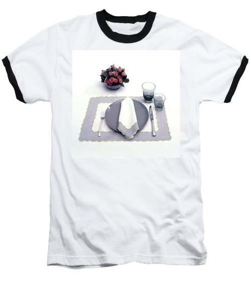 Summer Table Setting Baseball T-Shirt