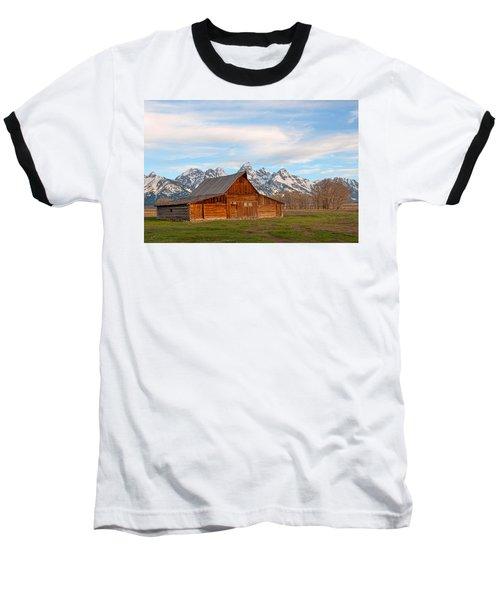 Teton Barn Baseball T-Shirt by Steve Stuller