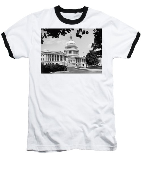 The Capitol Building Baseball T-Shirt