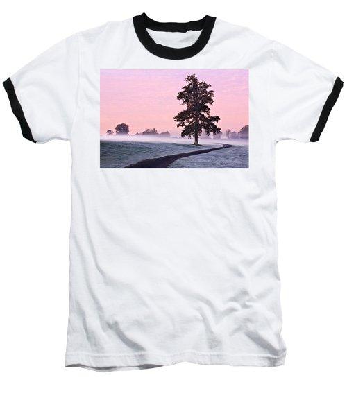 Tree At Dawn / Maynooth Baseball T-Shirt