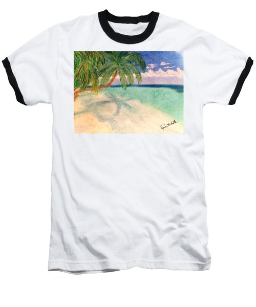 Tropical Shores Baseball T-Shirt
