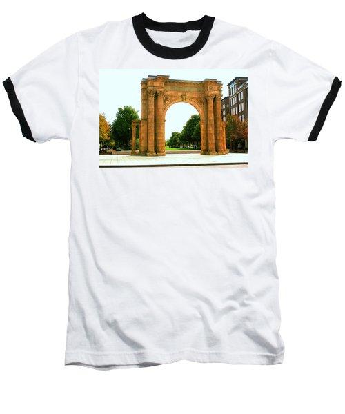Union Station Arch Baseball T-Shirt