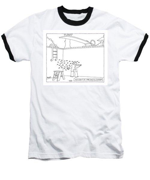 New Yorker April 2nd, 2007 Baseball T-Shirt