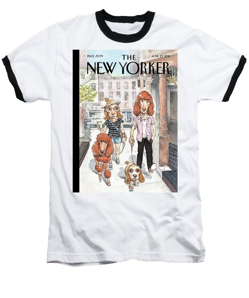 New Yorker June 27th, 2011 Baseball T-Shirt