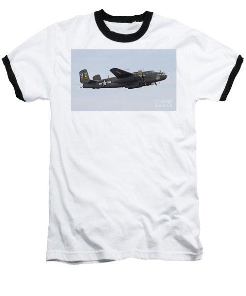 Vintage World War II Bomber Baseball T-Shirt