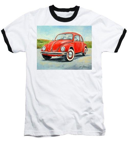 Vw Beetle Baseball T-Shirt