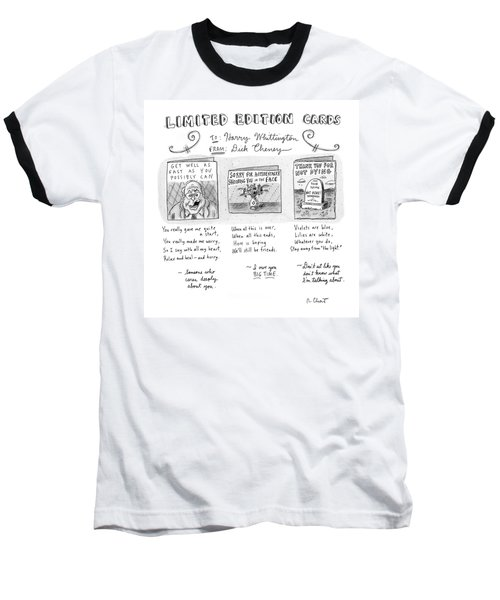 Limited Edition Cards Baseball T-Shirt