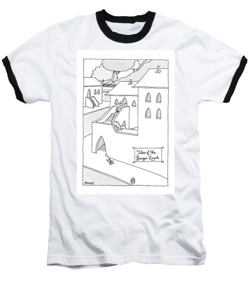 Tales Of The Bungee Leash Baseball T-Shirt