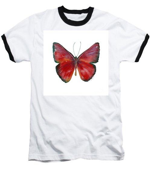 16 Mesene Rubella Butterfly Baseball T-Shirt