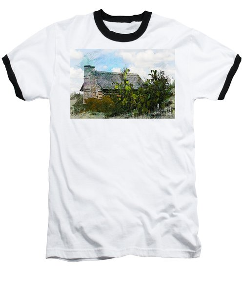 Baseball T-Shirt featuring the photograph 1810 Living by Robert Pearson