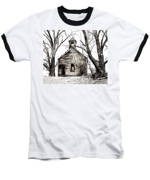 1904 School House Memory Baseball T-Shirt