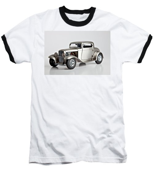 Baseball T-Shirt featuring the photograph 1932 Ford 3 Window Coupe by Gianfranco Weiss