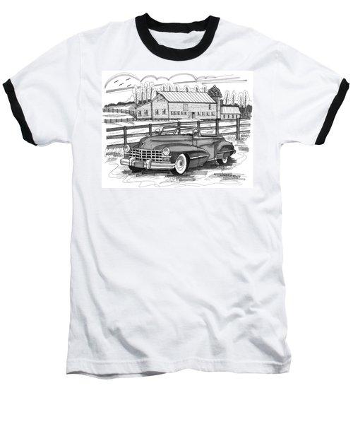 1947 Cadillac Model 52 Baseball T-Shirt