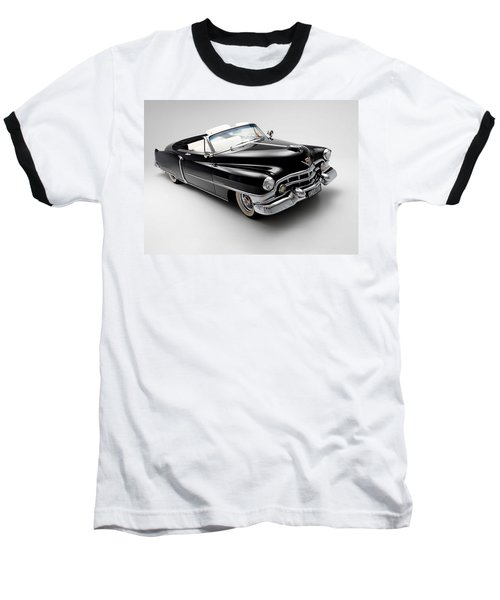 Baseball T-Shirt featuring the photograph 1950 Cadillac Convertible by Gianfranco Weiss