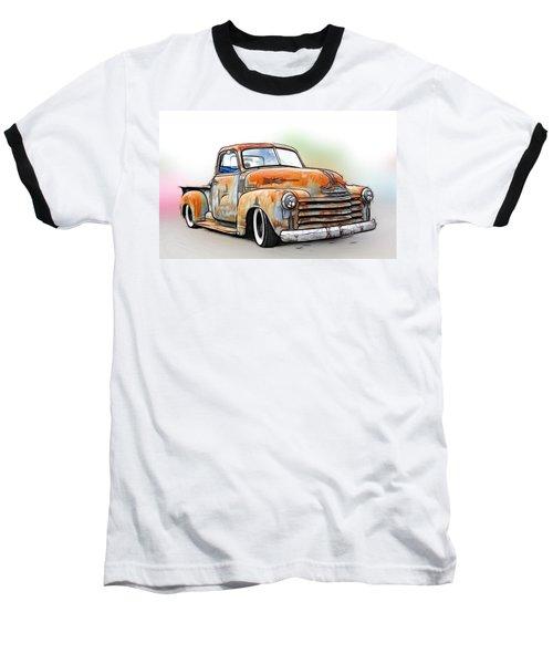 1950 Chevy Truck Baseball T-Shirt