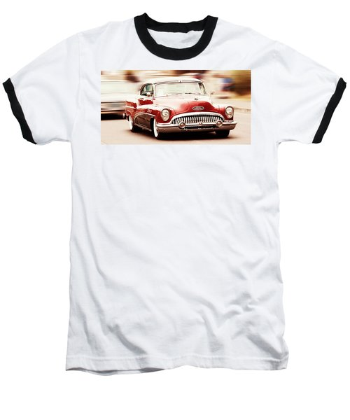 Baseball T-Shirt featuring the photograph 1953 Buick Super by Aaron Berg