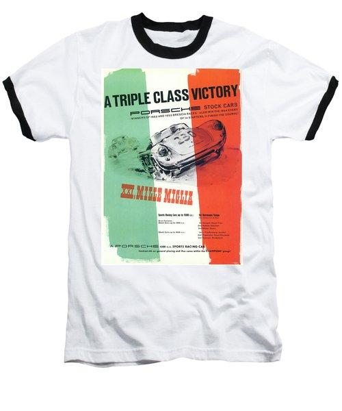 1954 Xxi Mille Miglia Baseball T-Shirt