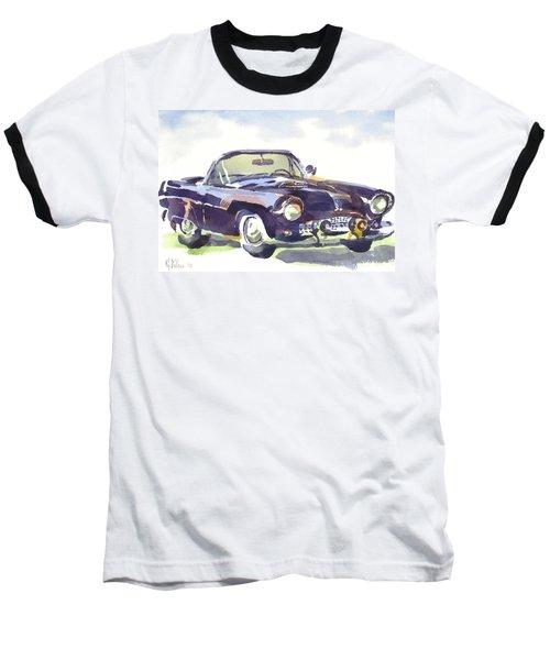 1955 Thunderbird Baseball T-Shirt