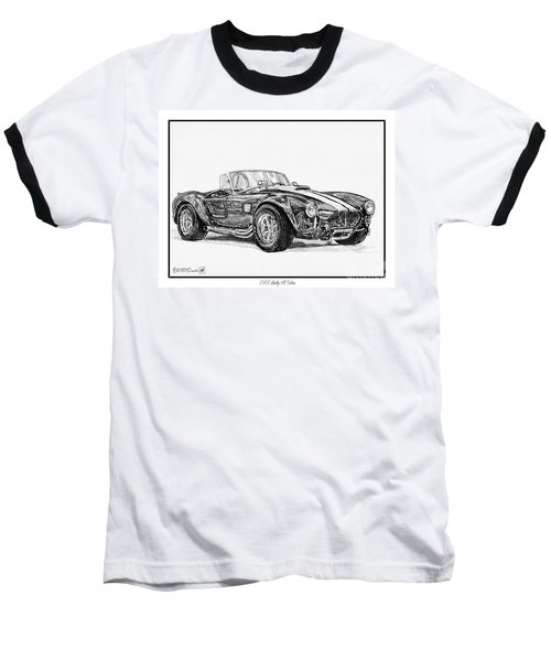 1965 Shelby Ac Cobra Baseball T-Shirt