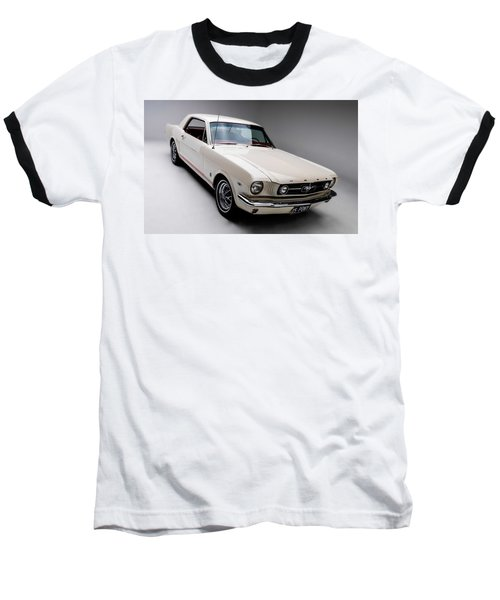 Baseball T-Shirt featuring the photograph 1966 Gt Mustang by Gianfranco Weiss