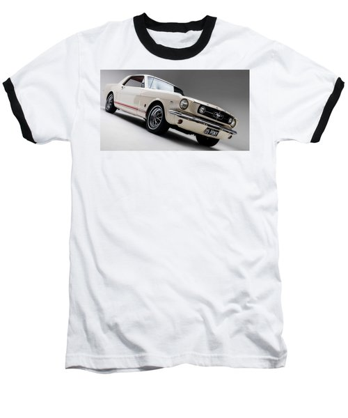 Baseball T-Shirt featuring the photograph 1966 Mustang Gt by Gianfranco Weiss