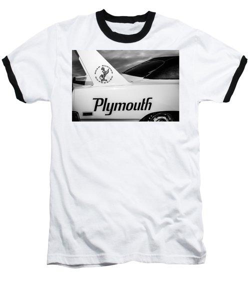 1970 Plymouth Superbird Emblem -0520bw Baseball T-Shirt
